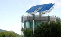 Photovoltaikanlage auf einem Solardach