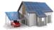 PV-Anlage auf Dach und Carport
