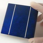 Einfache Solarzelle
