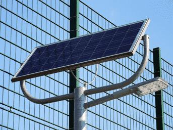 Solar-Straßenleuchte